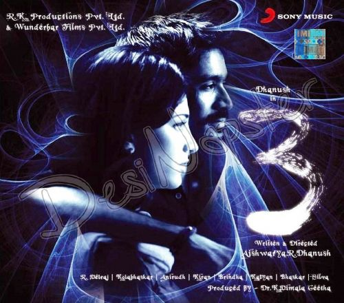 3 Moonu 2012 Flac Wav Songs Download Bollywood Movie Songs