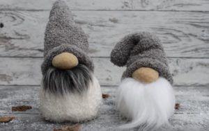 Tuto : réalisez un gnome de Noël à partir d'une chaussette #decorationnoel