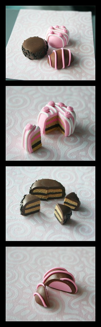 Fimo Cakefest.: by ~Shiritsu on deviantART