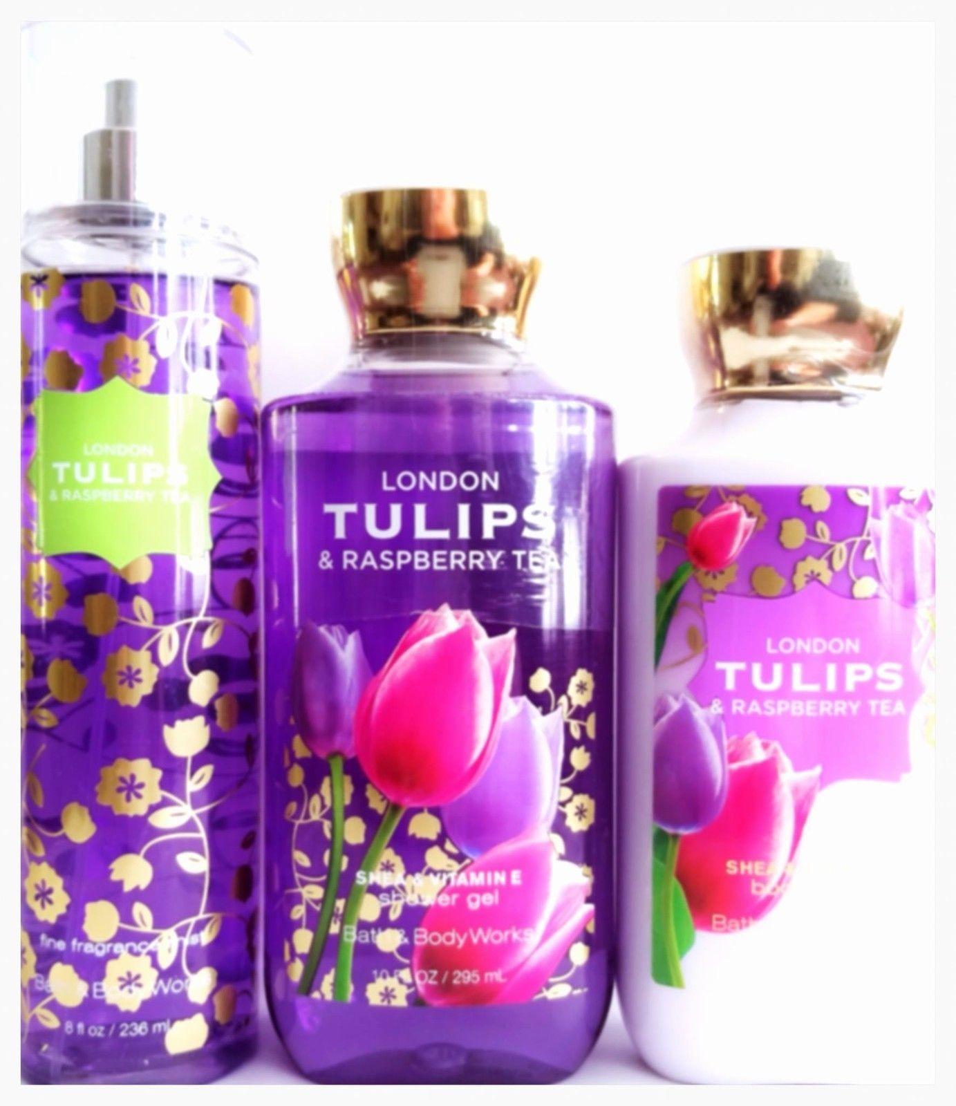 Bath & Body Works London Tulips Gift Set Lotion, Shower ...