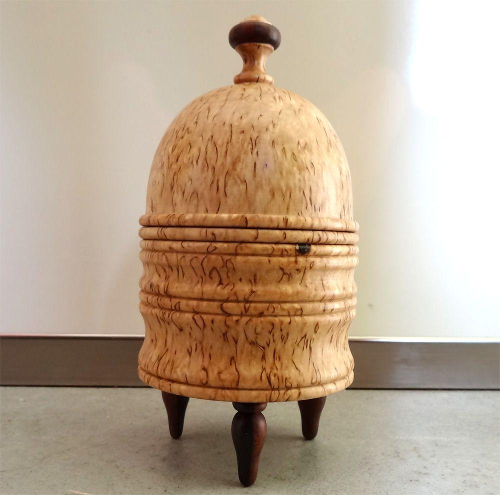 The Tarbell Orange Vase (Bois loupe de Bouleau)