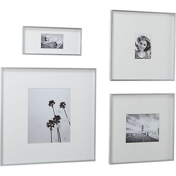 gallery picture frames - print family photos in black and white to ...