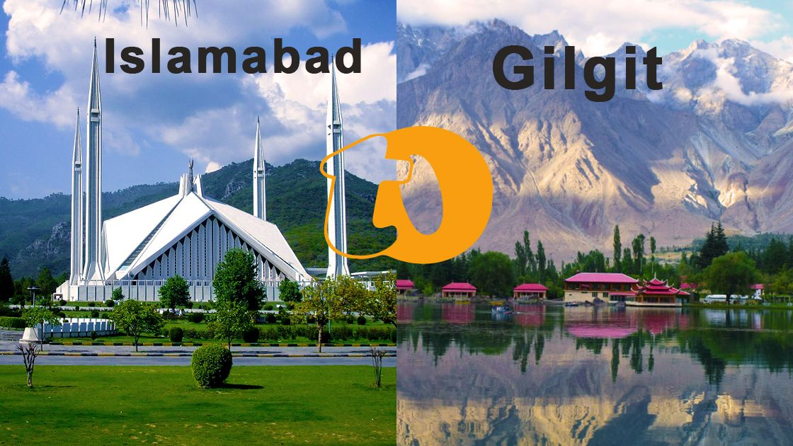 The north of Pakistan is the place where all the beautiful landscapes are at. If you are arranging an outing to Northern Pakistan, you are more likely to be passing through Gilgit. It's the capital city of the province of Gilgit-Baltistan and there are many reasons why you must visit GB. In this article, we will discuss the best ways to get to the Gilgit from Islamabad. There are primarily 3 different ways you can make a trip to Gilgit from Islamabad: