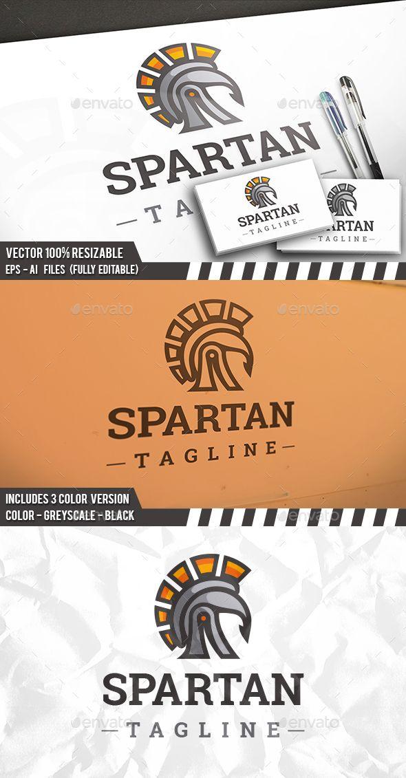 12ba2d66549ab Spartan Sun Logo - Humans Logo Templates