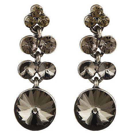 Phase Eight Nola crystal earrings   Debenhams   Christmas List ...