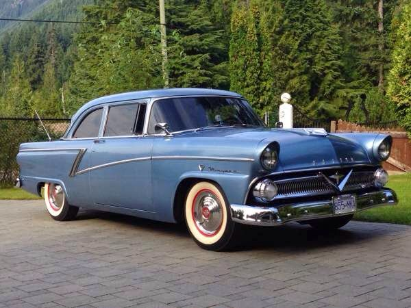 1955 Mercury Meteor Niagara Built In Canada By Ford Mercury Cars Vintage Cars Classic Cars