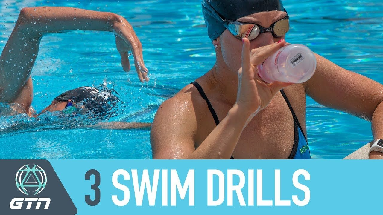 3 Swim Drills To Improve Your Front Crawl Technique Swim Faster Freestyle In Your Next Triathlon Youtube Swimming Tips Freestyle Swimming Swimming