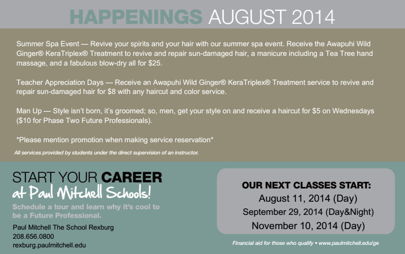 August Promotions Hand massage, Teacher appreciation