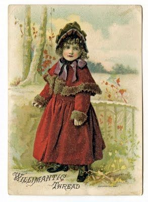 I have this advertising card.  It is one of my favorites!
