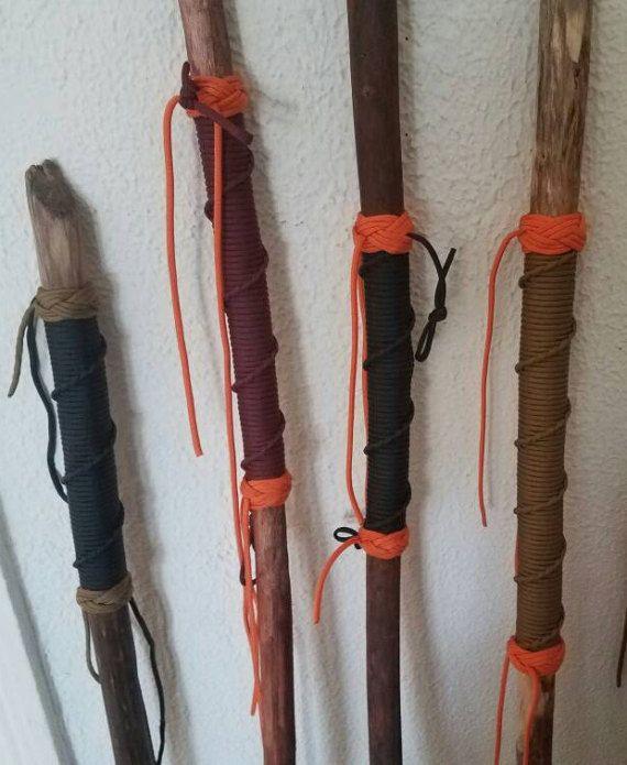 Walking Sticks With Paracord Wrap Walking Sticks