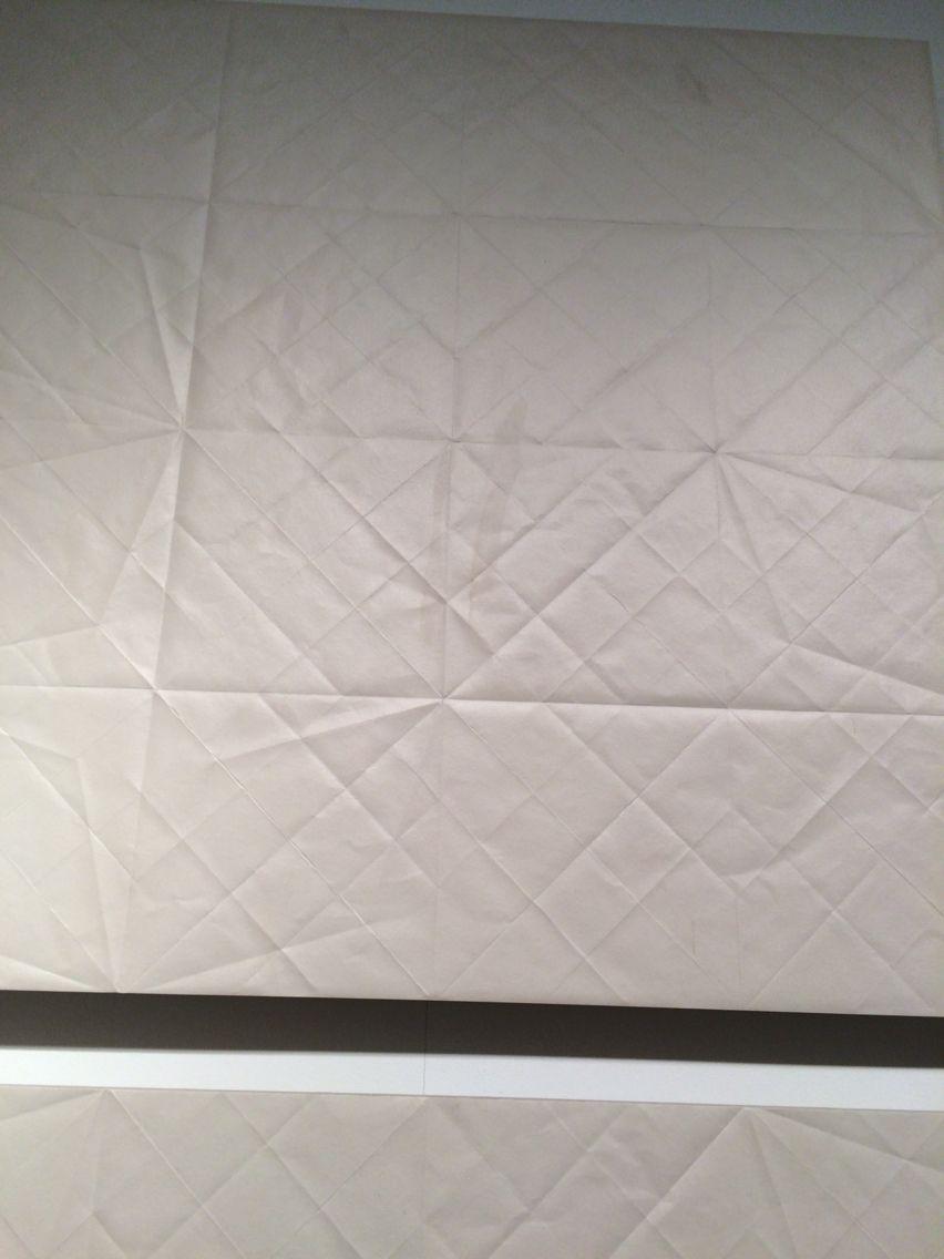 Folded paper ceramic, by Mutina. Extravagant