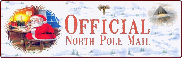 Official North Pole Mail Personalized Letters From Santa Claus Have Done This Several Ti Personalized Letters From Santa Santa Letter Personalized Letters