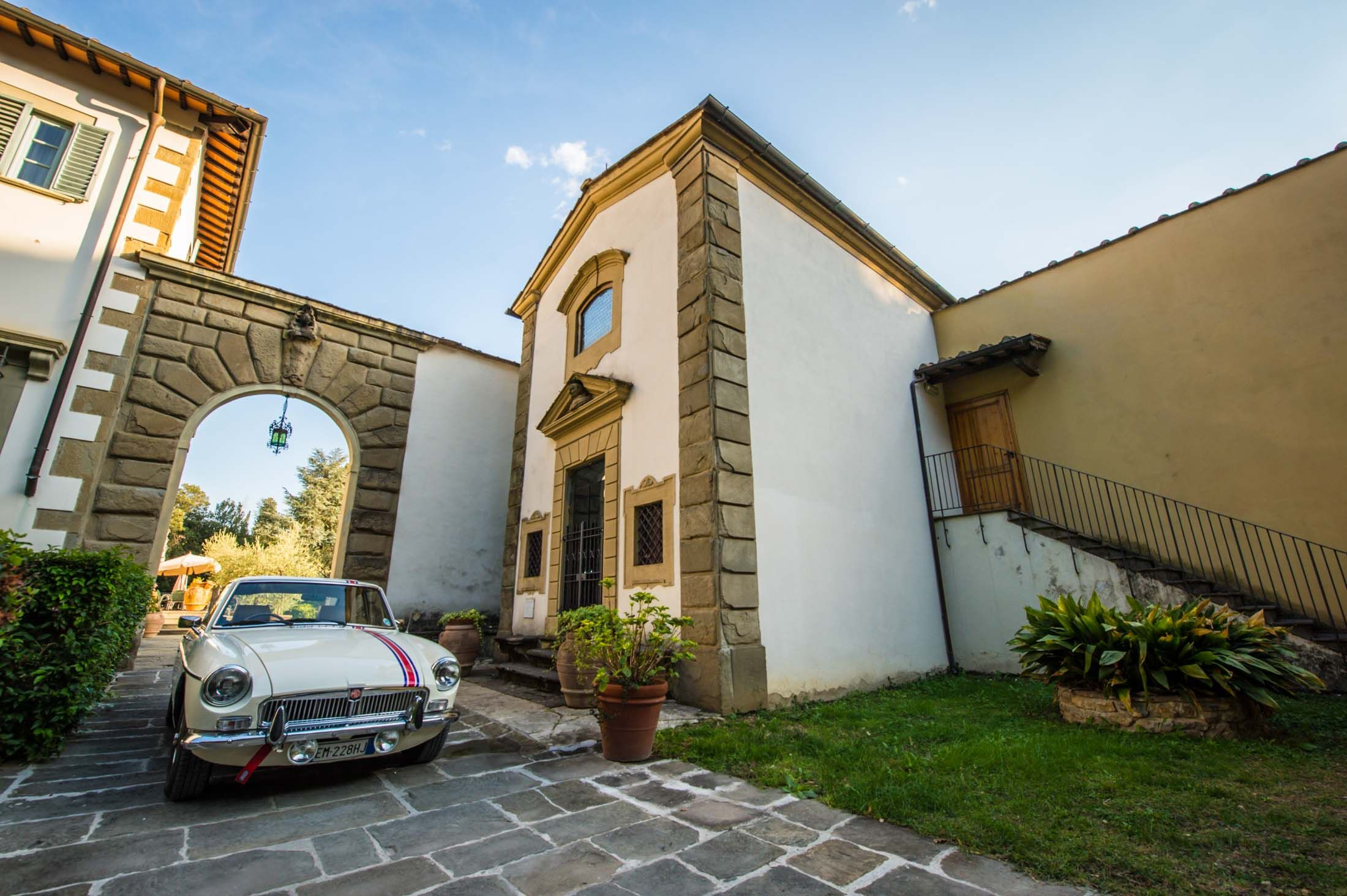 Even The MGB GT Looks Like A Million Bucks In Italy | Petrolicious