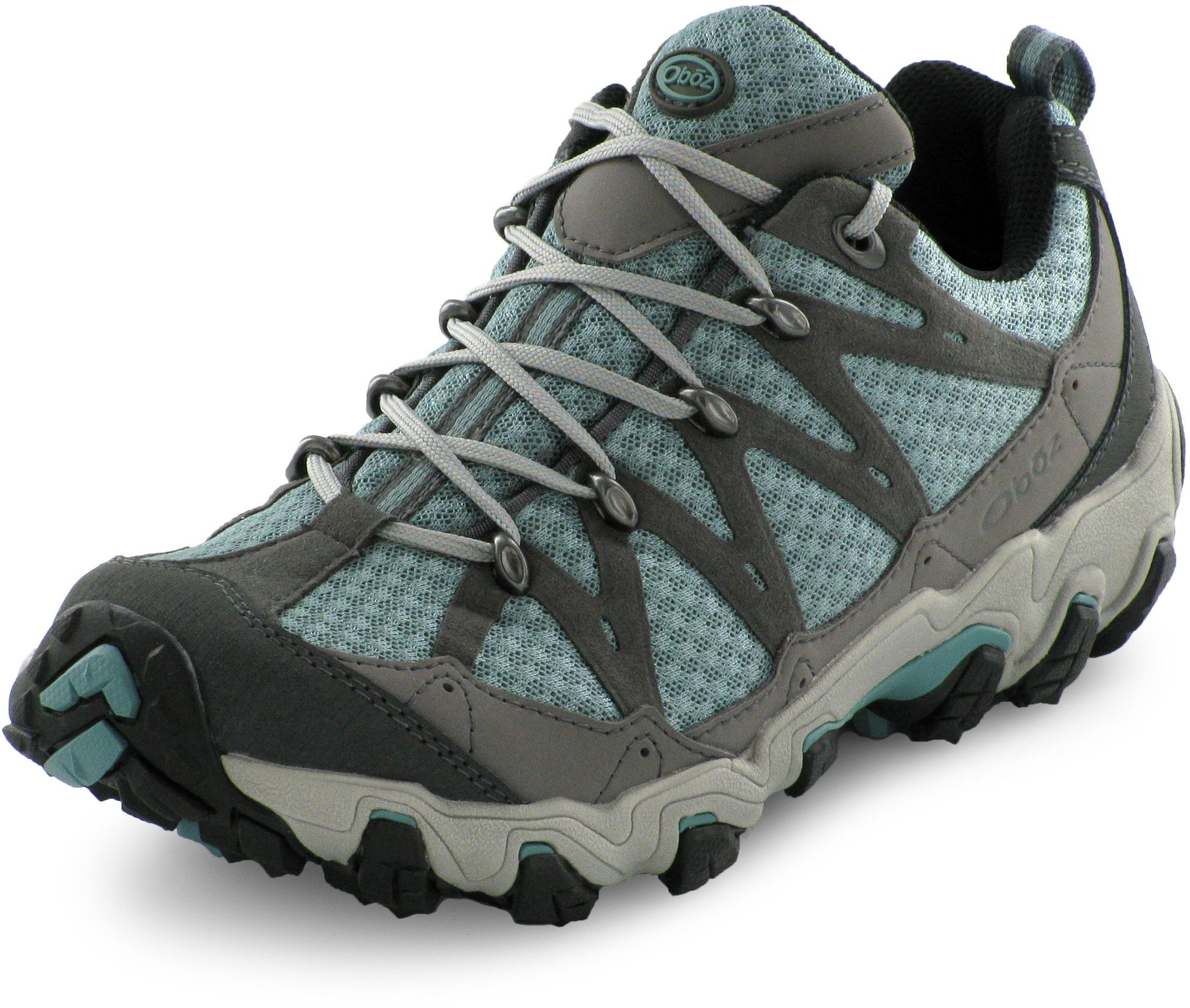 Oboz Women's Luna Low Hiking Shoes Mineral Blue 11