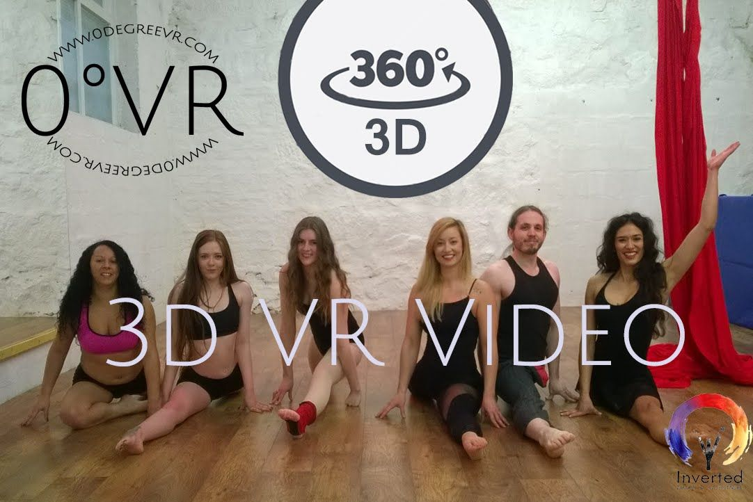 360 Video 3d Vr Pole Circus Fitness