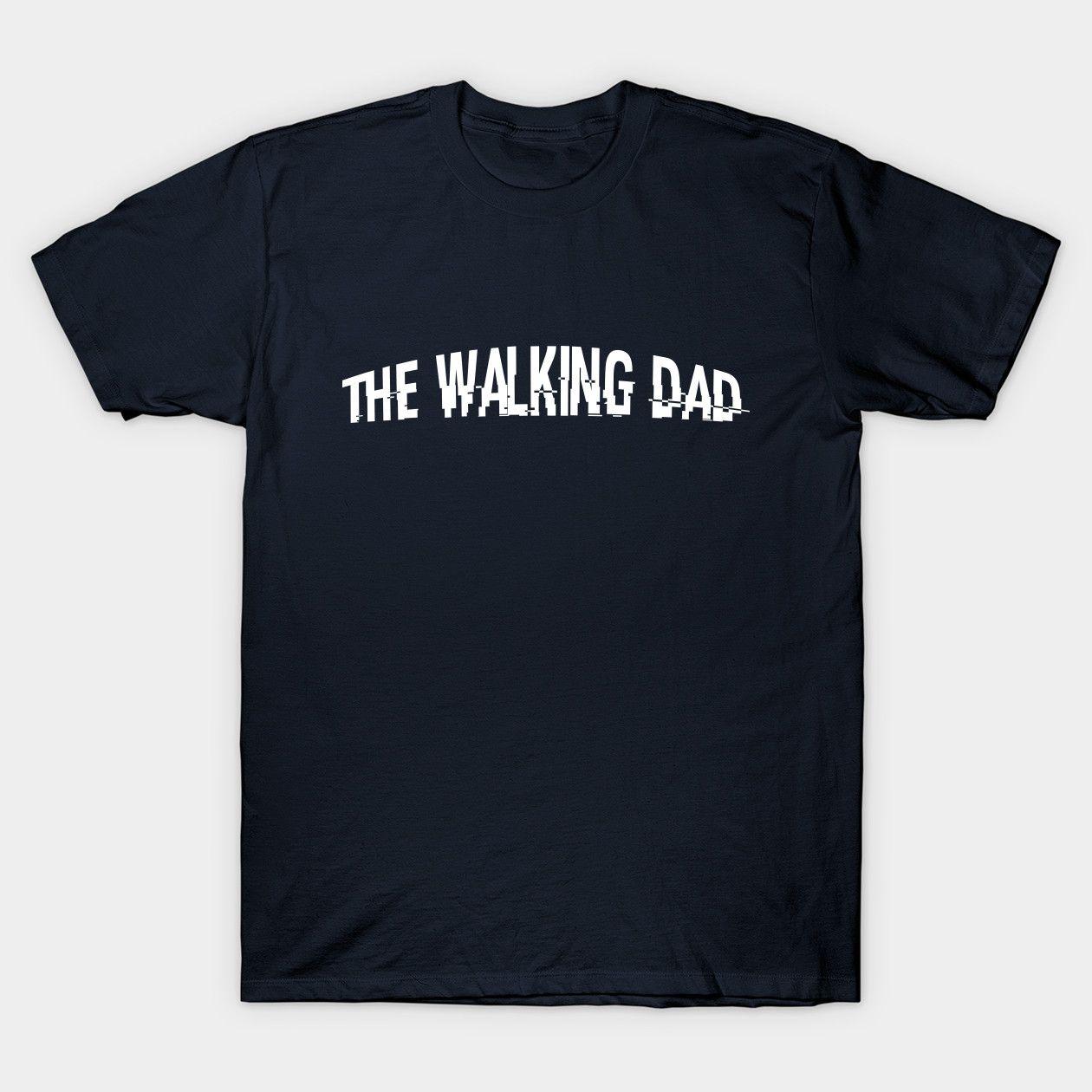 The Walking Dad Dad Classic T Shirt T Shirt Pink Tshirt