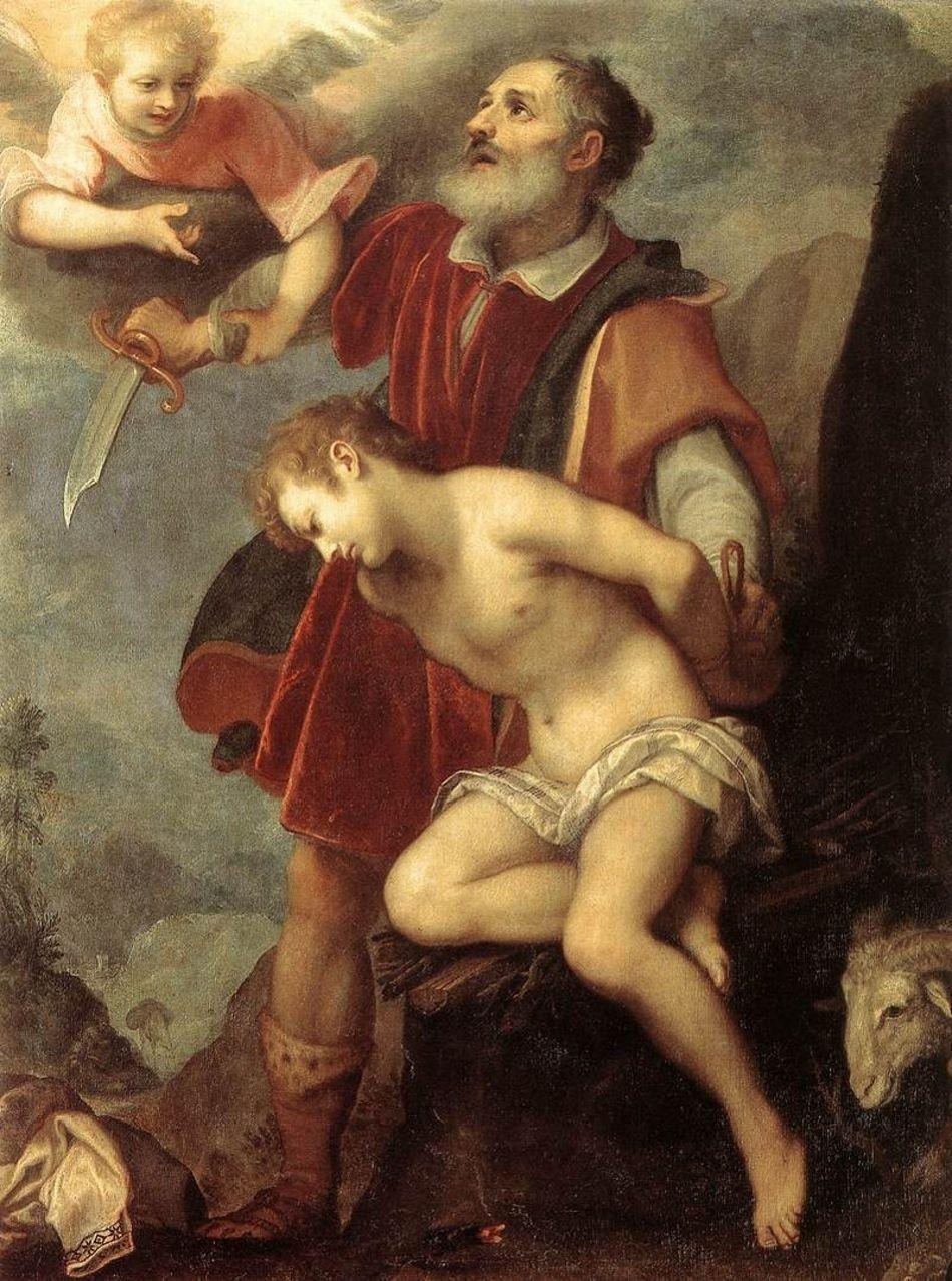 Familles Royales D Europe Le Sacrifice D Isaac Par Le Cigoli Lodovico Cardi Comment Peindre Les Arts Peinture Religieuse