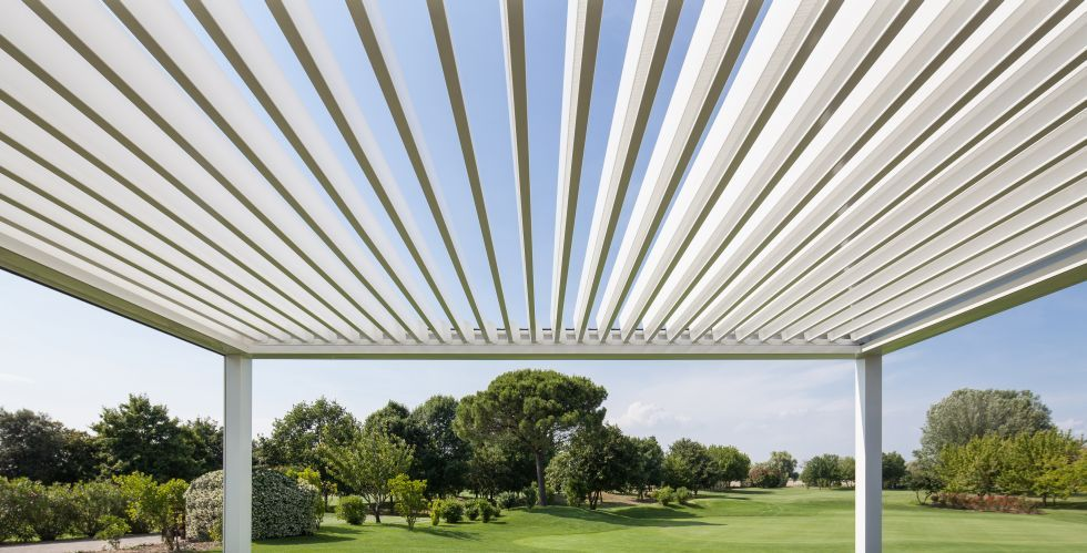 La nostra pergola Opera, protagonista all'#AstonMartin Golf Cup 2014