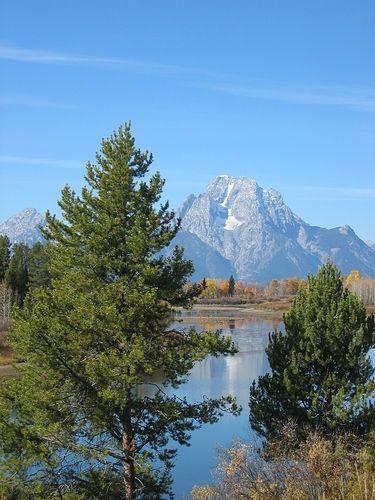 Grand Tetons National Park, Wyoming — a perfect fall getaway
