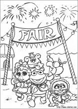Muppet Babies coloring pages on ColoringBookinfo Coloring Pages