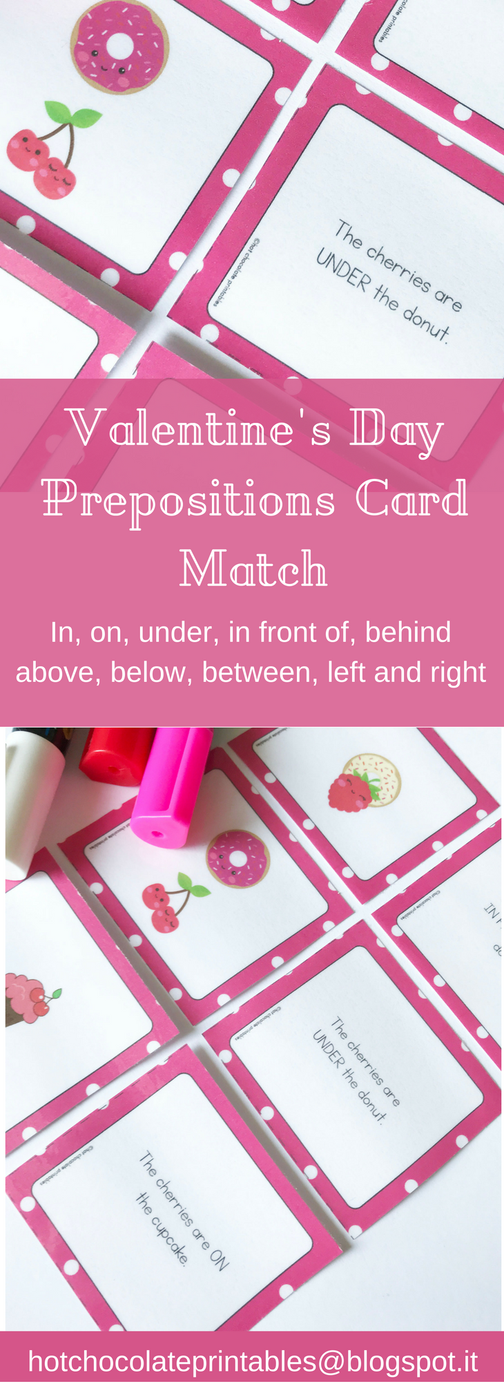 Learn Review And Practice Prepositions Of Place In On Under In Front Of Behind Next To Betwe Prepositions Printable Teaching Resources Valentine Lessons [ 2000 x 730 Pixel ]