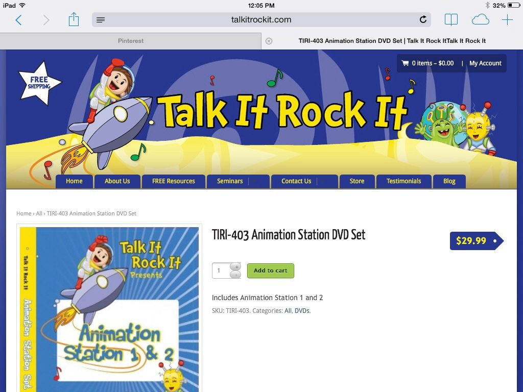 I love this product by Rachel Arntson and Rock It Talk It. My Autistic students love it.