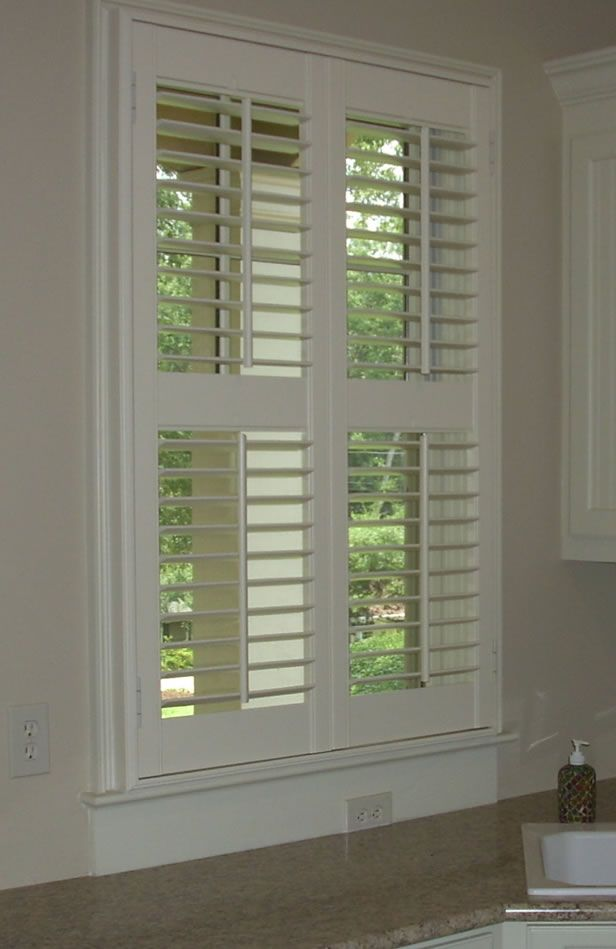 Awesome Interior Louvered Shutter | Efficient Window Coverings