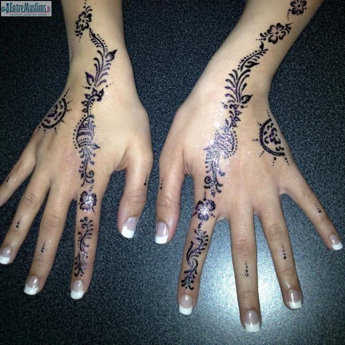 tatouage harkous tunisien entremuslims.fr   henné   henna