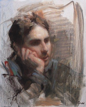 """Man in Thoughts"" by Ignat Ignatov (Bulgaria, b. 1978)"