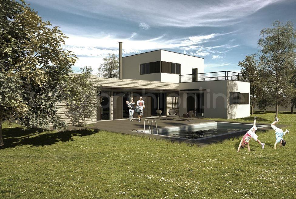 Maison Lounge  une maison Moderne conçue par l\u0027architecte