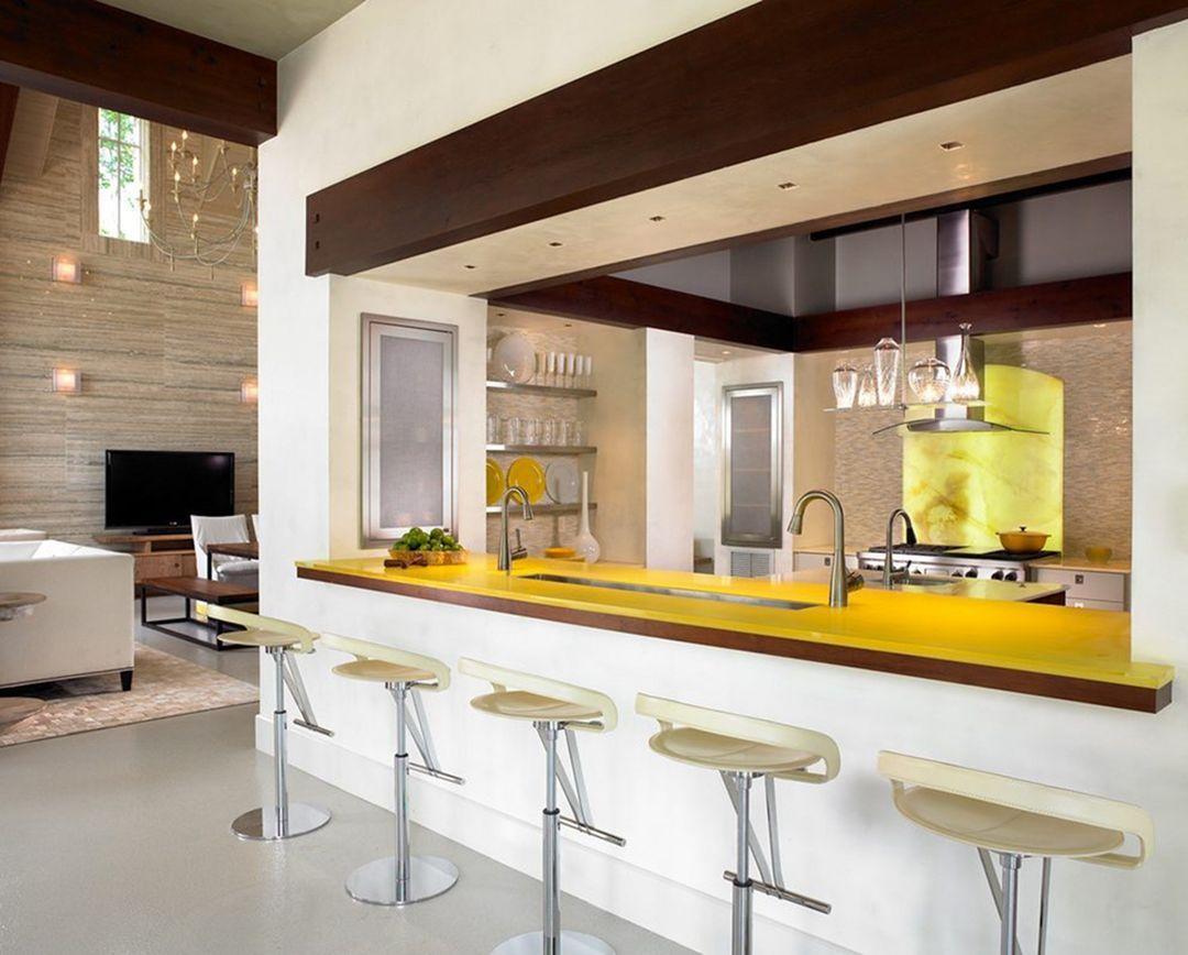 Mini Bar Kitchen Ideas With Images Kitchen Bar Design Modern Kitchen Bar Kitchen Bar Decor