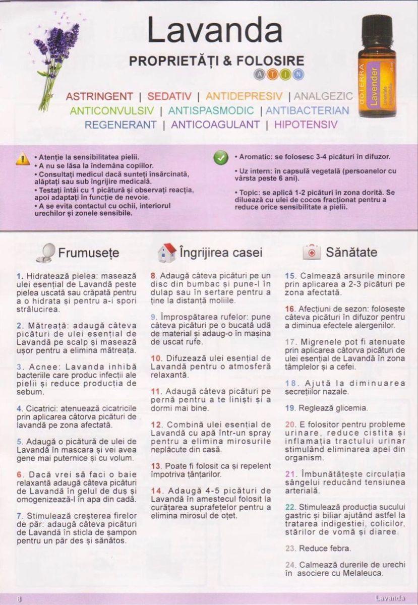 ulei de lavandă cu varicoză)
