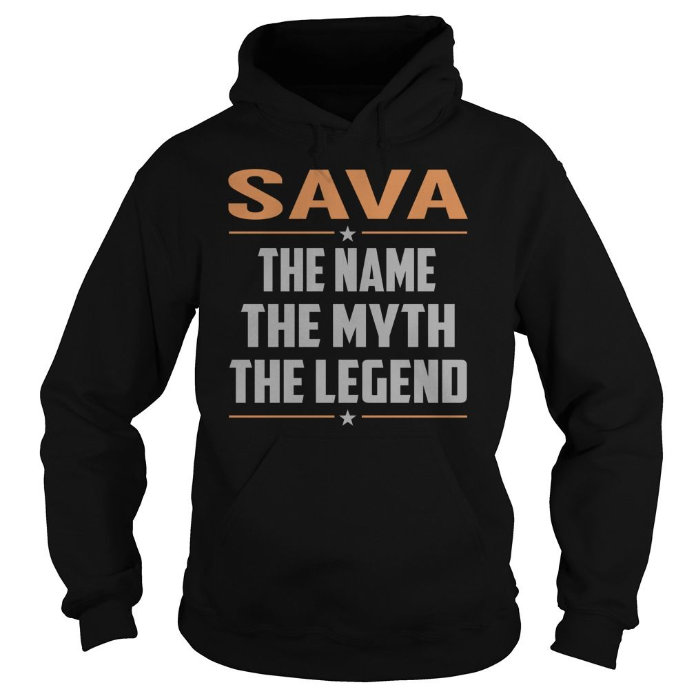 SAVA The Myth, Legend - Last Name, Surname T-Shirt