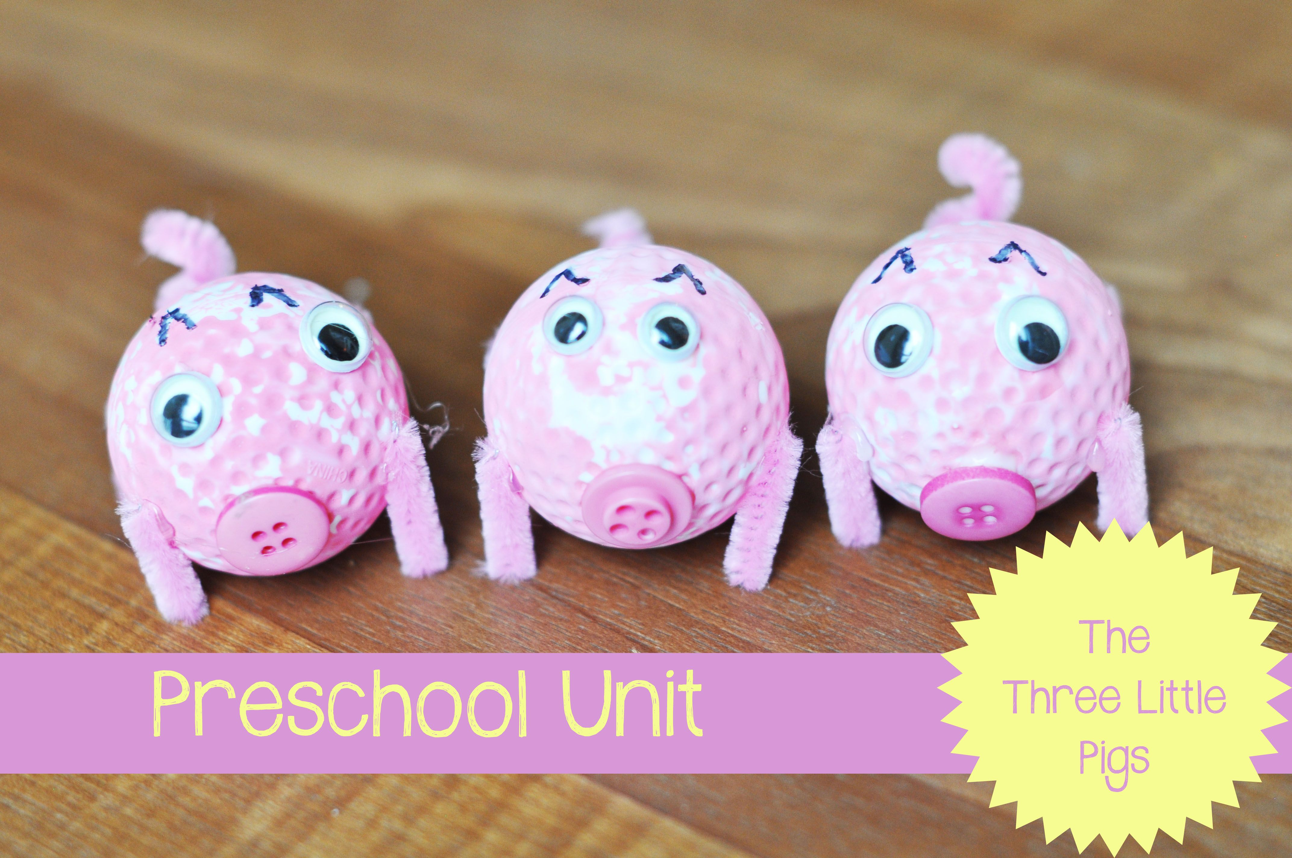 Tot School : The Three Little Pigs