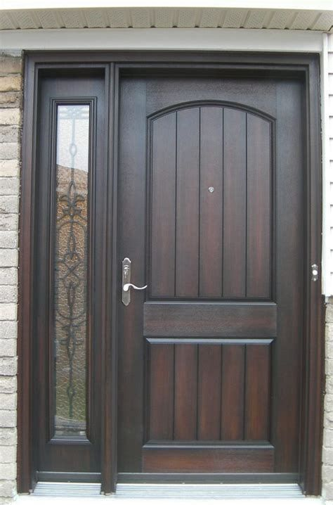 Entry Doors Are Made From Timber Steel Or Fiberglass And In Come Cases A Mix Of These Materials Solid Wood Front Door Door Design Interior Front Door Design