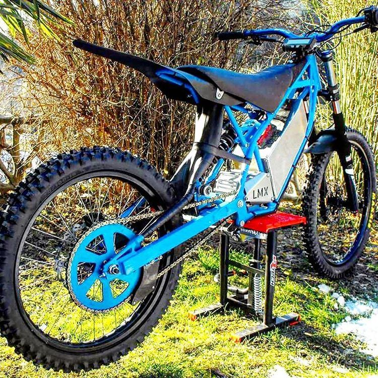 cool dirt ebike support french ebike force lmx freeride. Black Bedroom Furniture Sets. Home Design Ideas