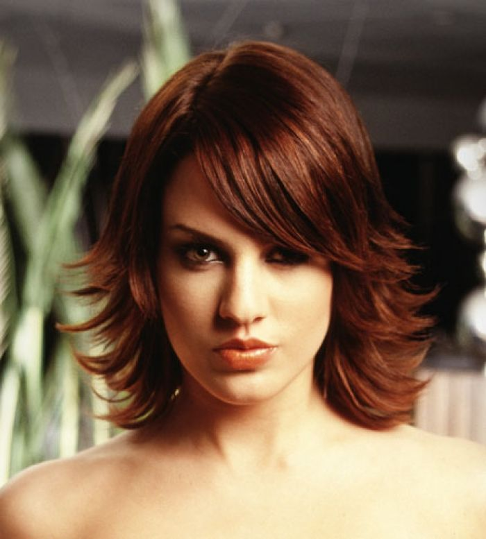 Style Medium Length With Short Layers To Emphasise Shape Hair Is Design 450x500 Pixel
