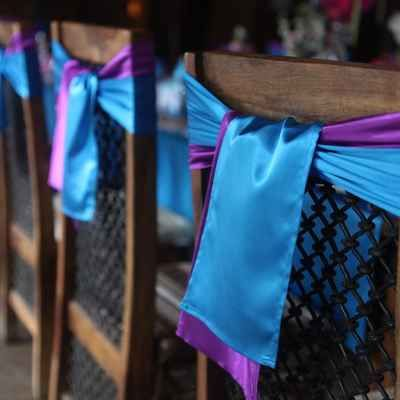 Emejing Purple And Blue Wedding Decorations Contemporary - Styles ...