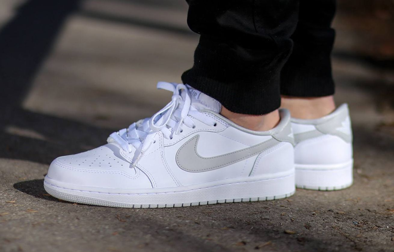 air jordan 1 low blanche