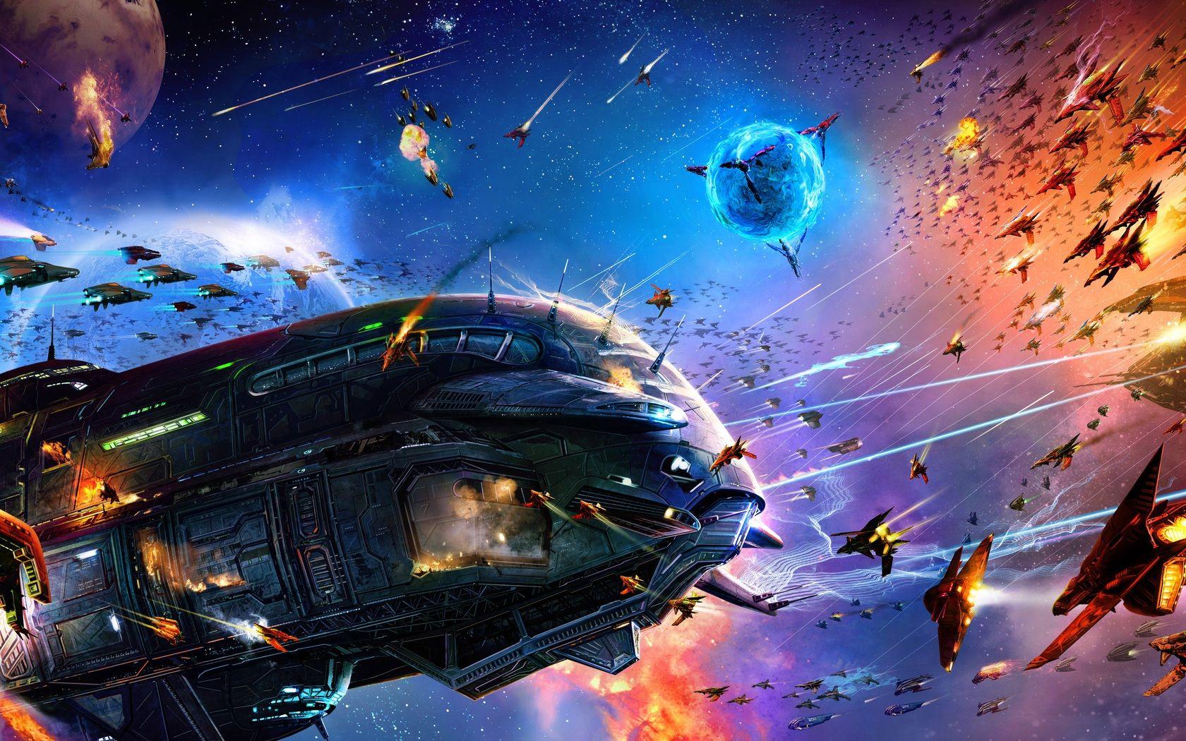 Sci Fi Spaceship Wallpaper 1680x1050 Px Free Download