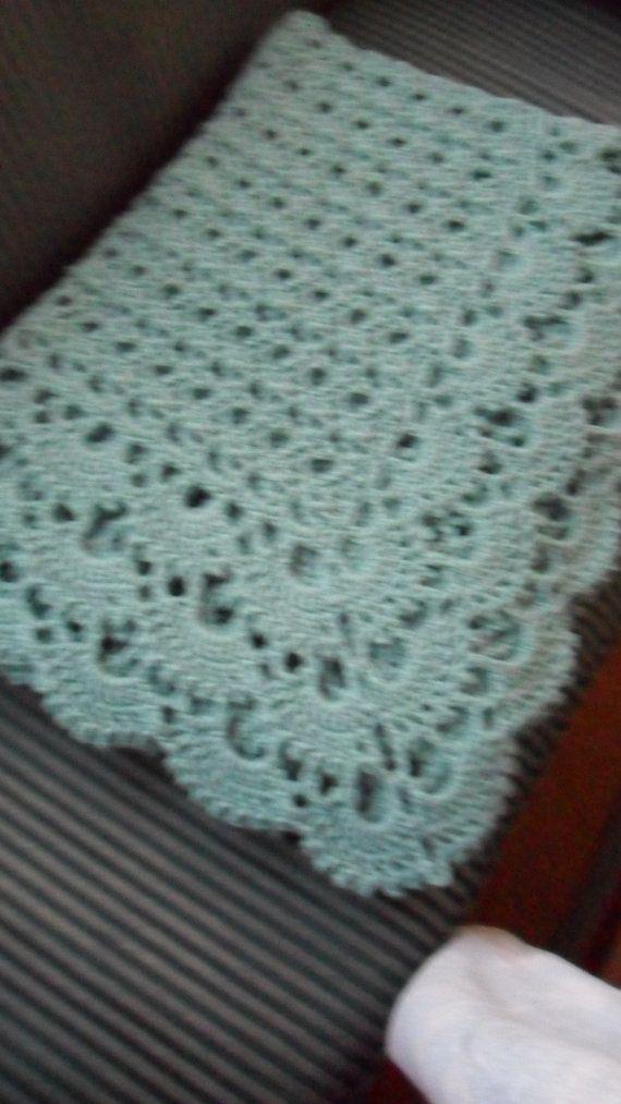 Crochet Afghan (California King 116in. X 82in.) - Blanket ...