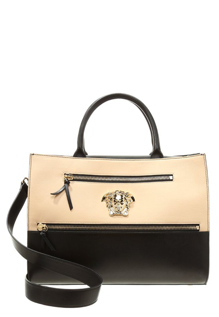 a54406aaee Versace Cabas - nero/nudo/oro chiaro - ZALANDO.FR | Maroquinerie ...