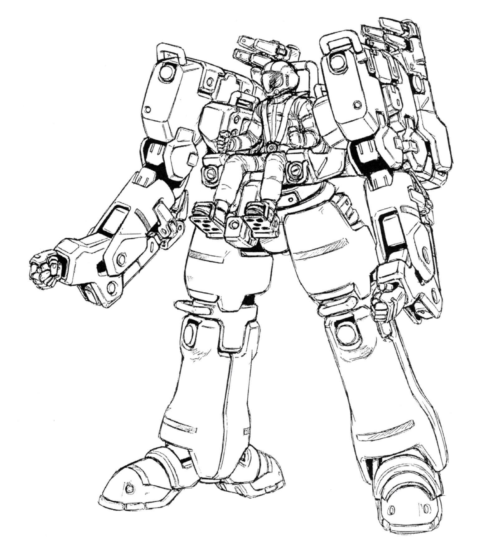 Operating Ms Aka Mining Colony Mobile Suit Is A Non