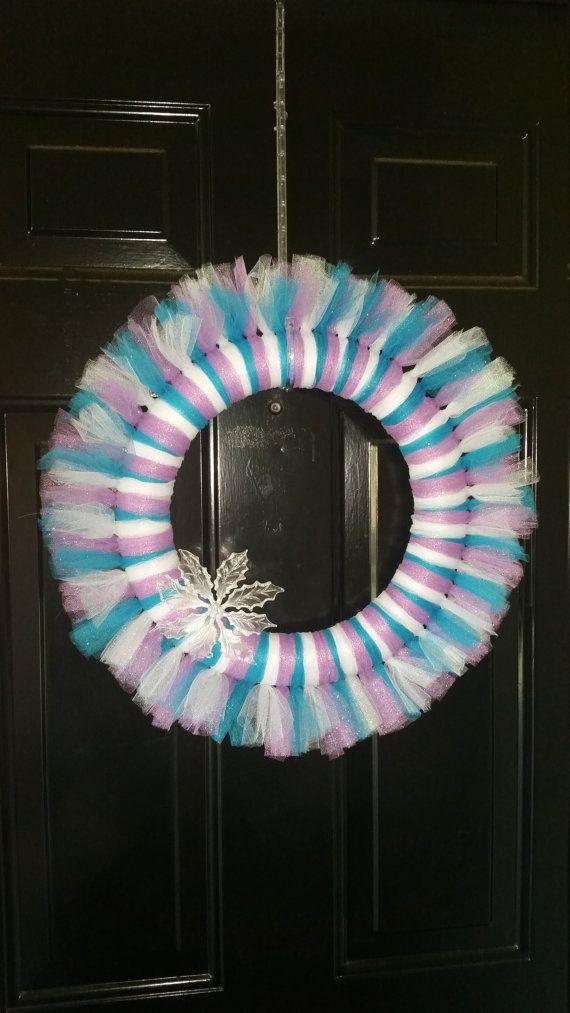 Tulle Wreath by 2ToolleCute on Etsy