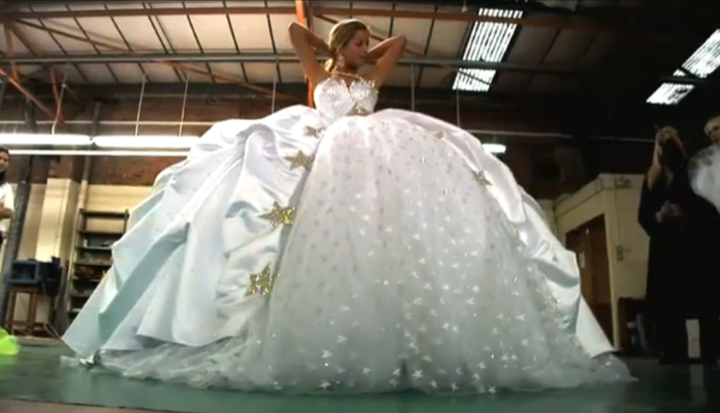 Sondra celli wedding dresses  Gypsy Wedding Dresses  Photos u Video of Impressively Big Wedding