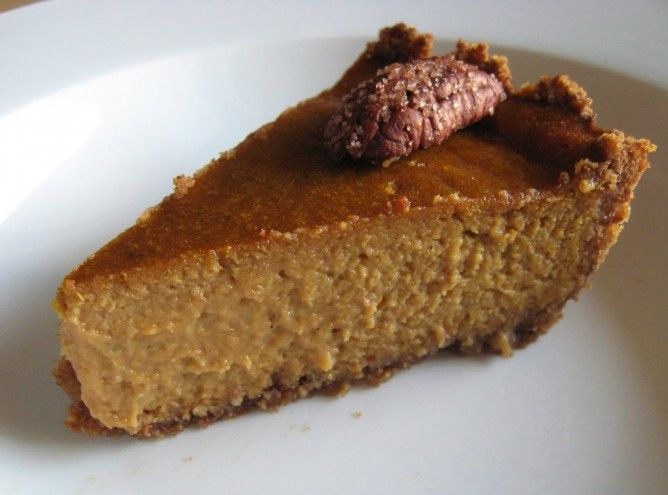 The Detox Diva | Vegan Pumpkin Pie with Pecan Crust