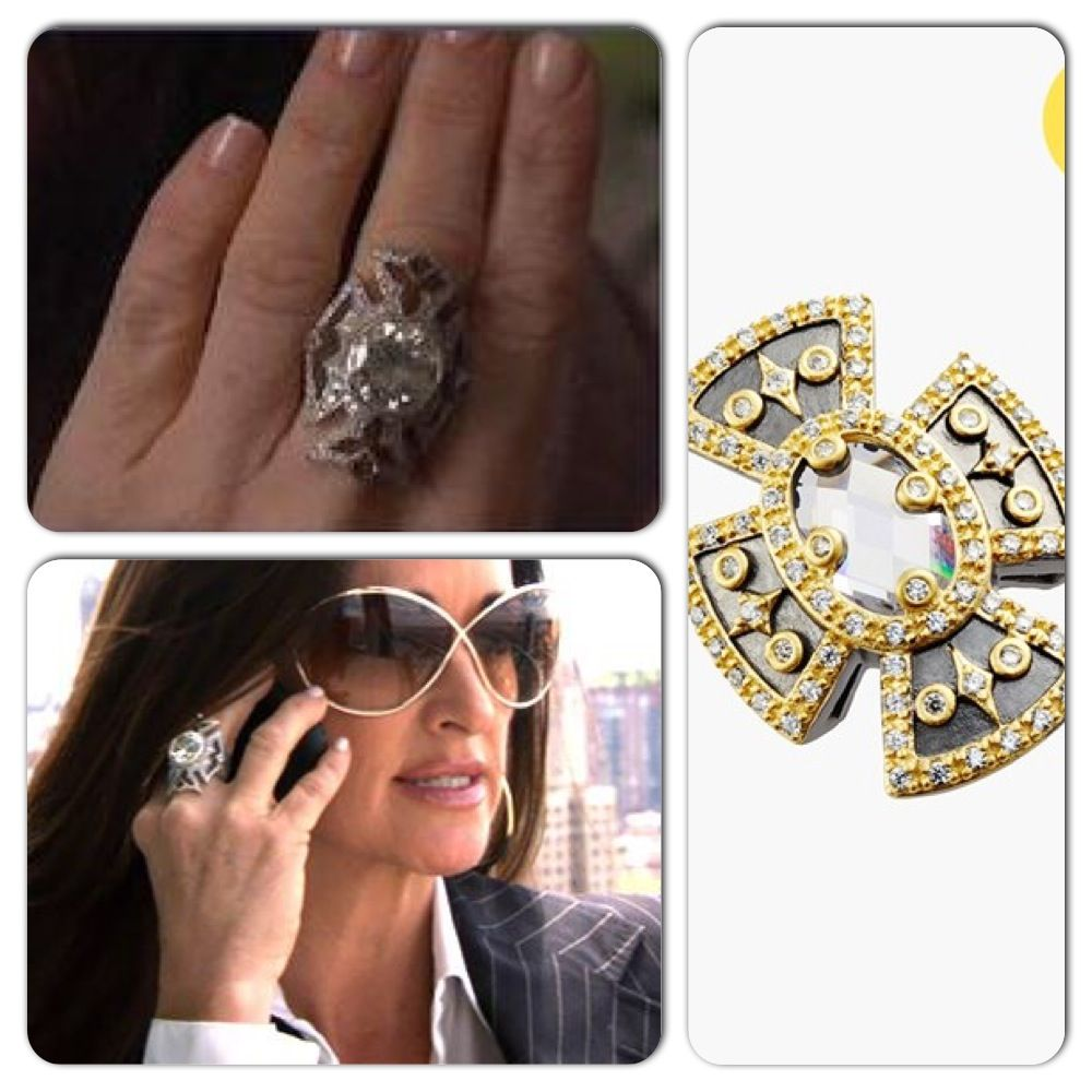 Kyle Richards Loree Rodkin Ring For Less At The Nordstrom Annivesary Http