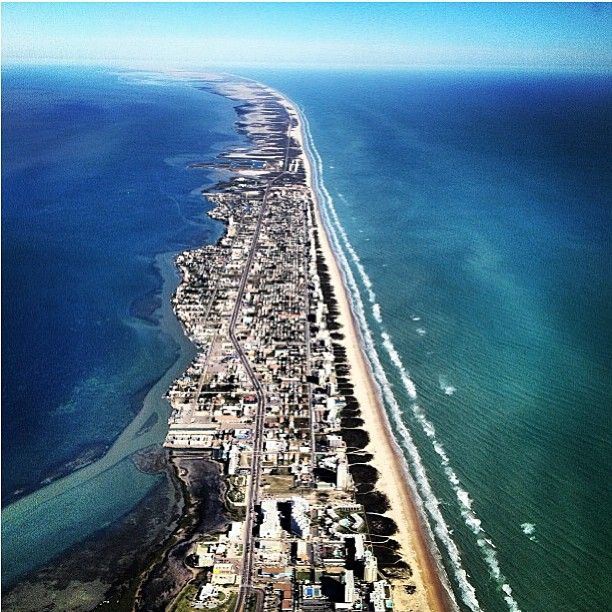 Galveston Island, Texas Sadly, nearly wiped off the face of the ...