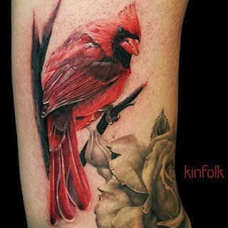 Cardinal tattoo tattoos pinterest tatouages for Can fbi agents have tattoos