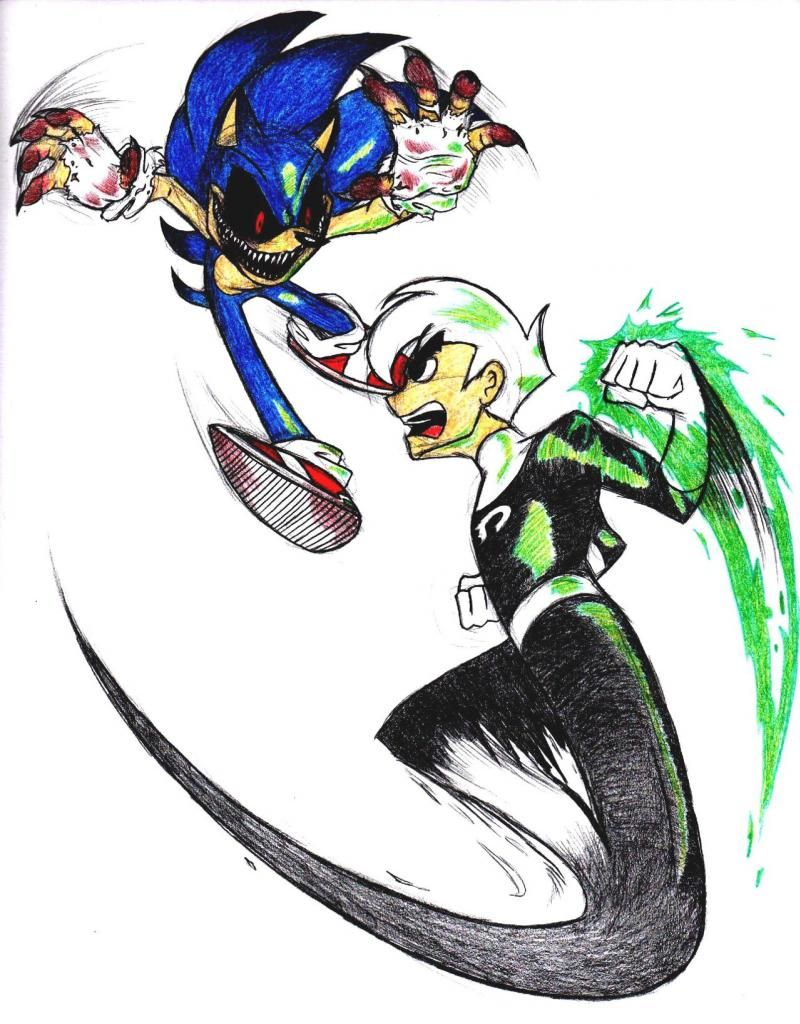 Not a fan of Danny Phantom but I like sonic exe | Geeky things